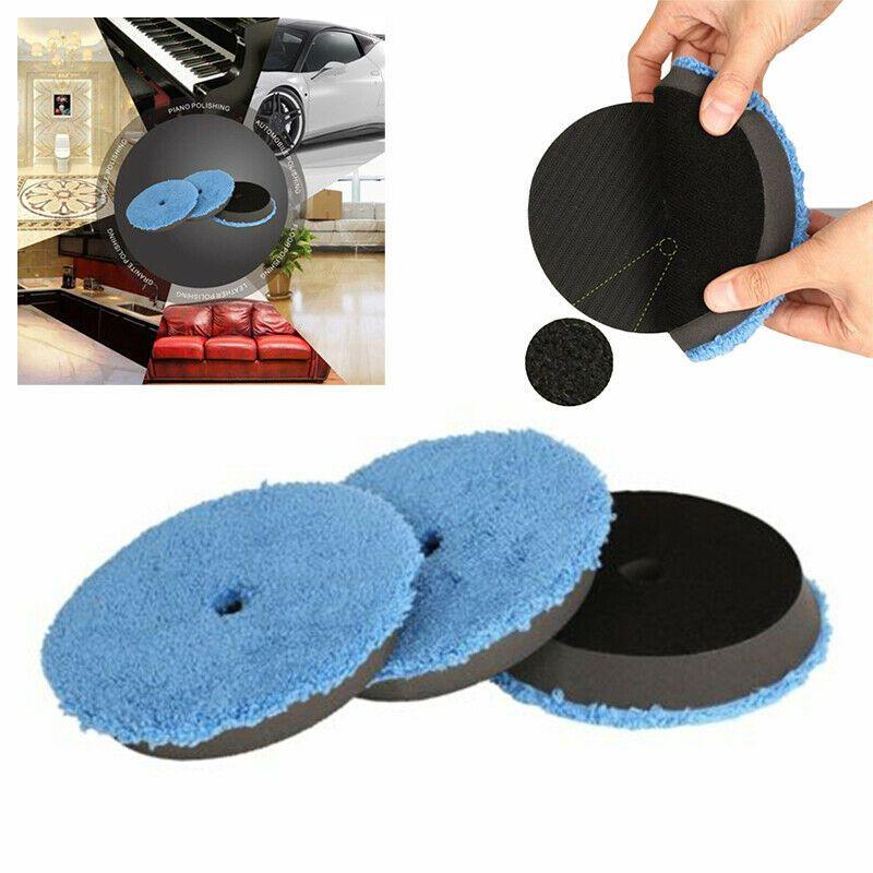 Ebay Advertisement Polishing Pads Bonnets Automotive Tools Cleaning Kit Buffing Plush Microfiber Buffing Pads Car Bonnet Microfiber
