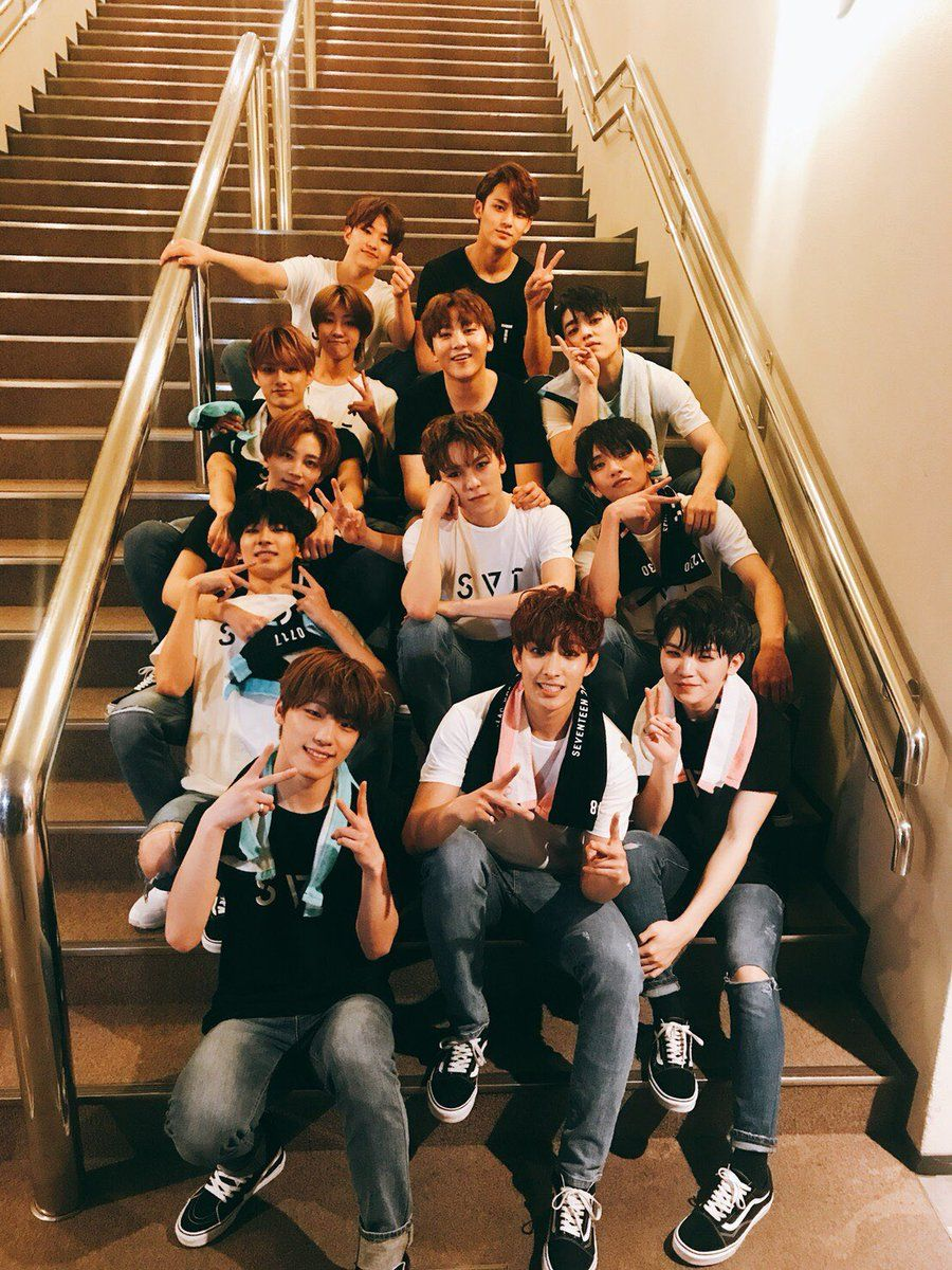 SEVENTEEN takes top 4 places in Japan HMV K-Pop sales chart