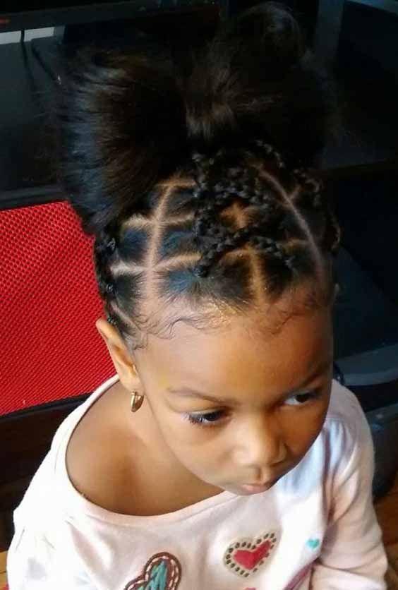 5 Easy Braids Hairstyles For Little Girls Best Black Braids