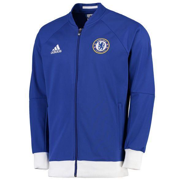 2016/17 Chelsea FC adidas Anthem Jacket - Blue - $53.99