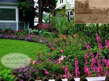 cottages and bungalows landscaping front yard cottage garden traditional landscape new york