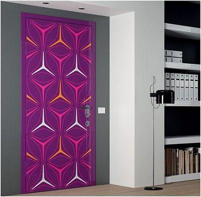 ideas para pintar y decorar las puertas de casa cuando de empieza con la decoracin