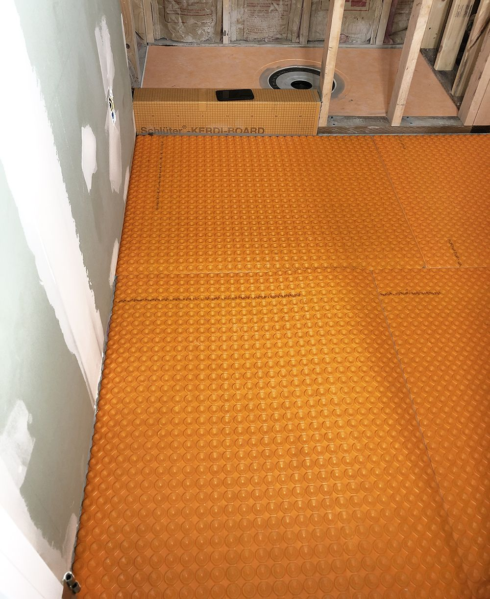 Diy Heated Floor Tile Tutorial In 2020 Heated Floors Tile Floor Tiles