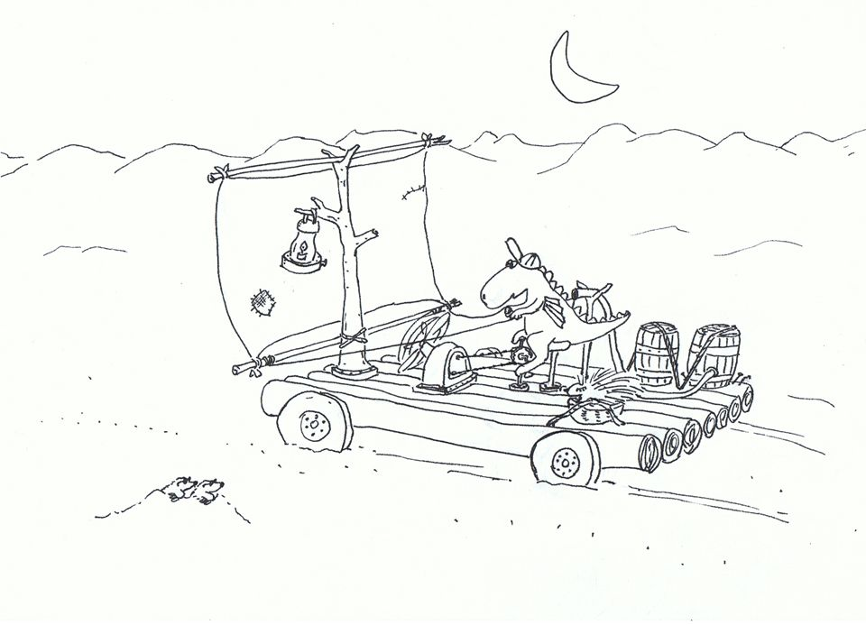 2010 11 Der kleine Drache Kokosnuss auf dem Weg durch die ...