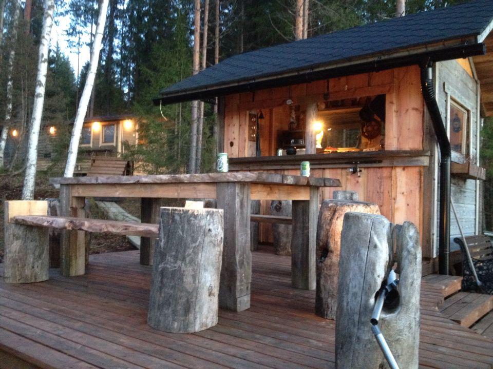 Pihakeittiö kesäkeittiö baari bar piharakennukset ruokapaikka