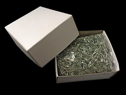 Household Mall 1.1 inch Pack of 1440 Pcs Safety Pins - Great for Office Use and Art, Craft, Sewing Needs - Fasten Pieces of Fabric or Clothing Together - Package include : 1440 pcs of 1.1″ Silver Safety Pins.  - http://ehowsuperstore.com/bestbrandsales/arts-crafts-sewing/household-mall-1-1-inch-pack-of-1440-pcs-safety-pins-great-for-office-use-and-art-craft-sewing-needs-fasten-pieces-of-fabric-or-clothing-together
