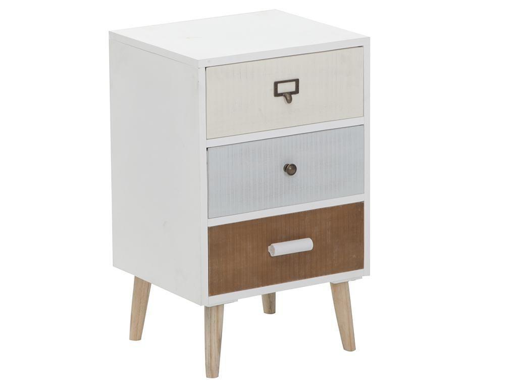 Шкафче с 3 чекмеджета Squares - Vivre
