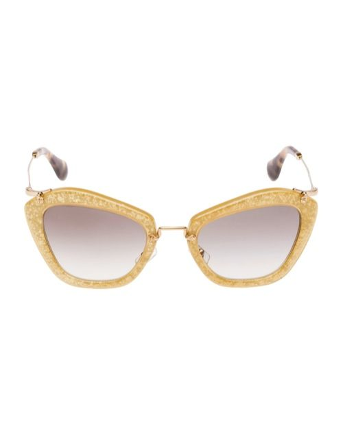 1a777636a3a3 Miu Miu Brings the Glam with its Glitter Sunglasses Collection