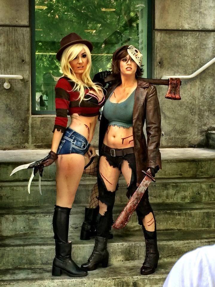 Jessica Nigri - Freddy Krueger halloween Pinterest Freddy - hot halloween ideas