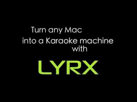 Professional Karaoke Software - MAC. Great last minute gift idea.