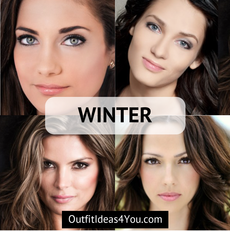 Color Analysis Quiz Your Color Style Seasonal Color Analysis Winter Skin Tone Colors Color Analysis