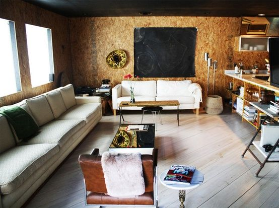 Wall Paneling Interior with OSB pros and cons   Interior Design ...