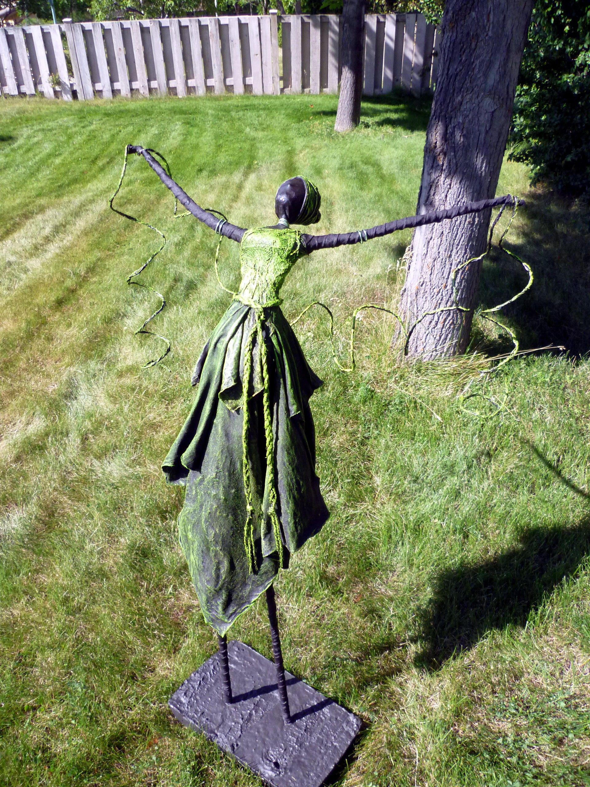 Paverpol Garden Statue About 4 Ft Tall Sculpture Pottery