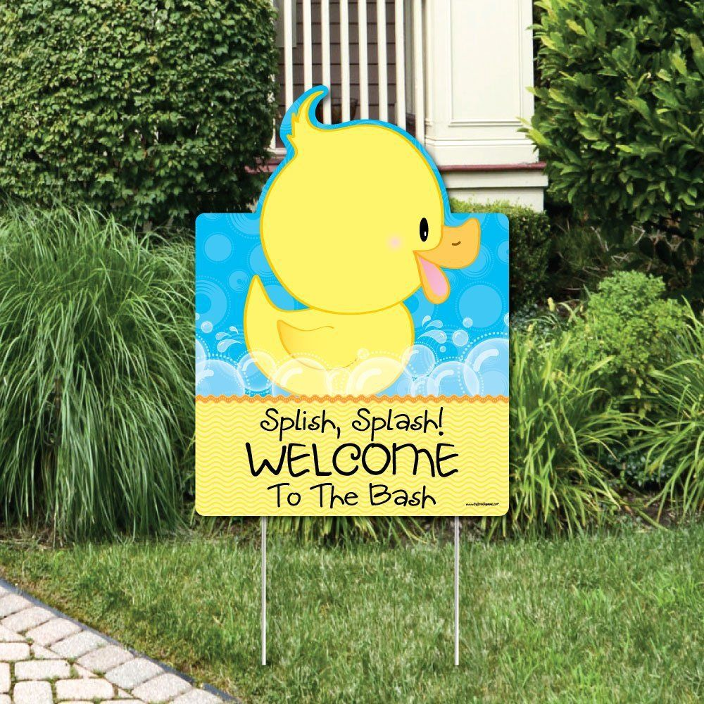 Animal Themed Party Invites 10 Fun Shaped Ideas For Every Celebration Ducky Baby Showers Baby Shower Duck Rubber Ducky Baby Shower