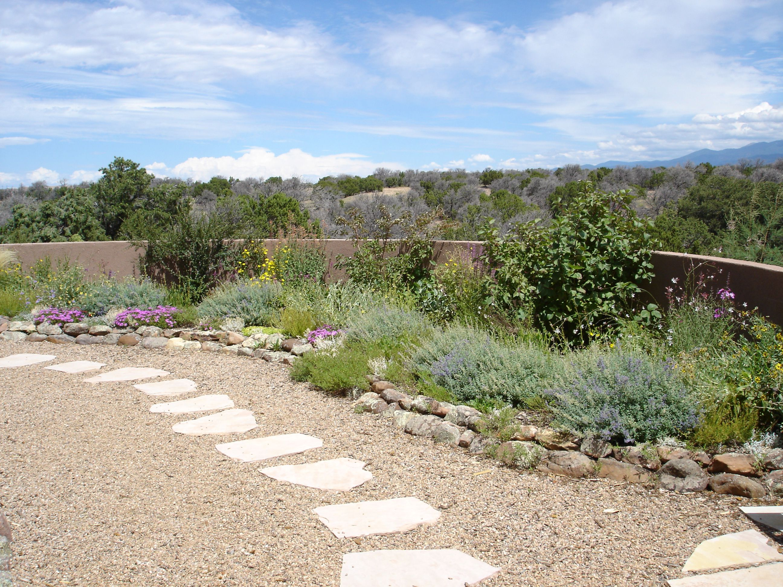 Xeriscaping xeriscaping in santa fe xeriscaping is a for Garden design xeriscape