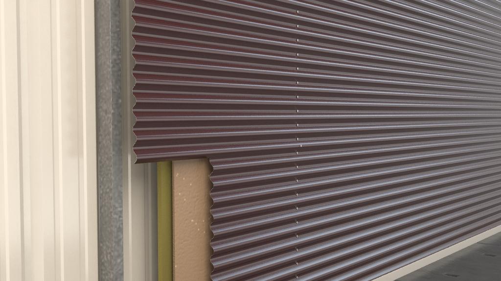 7 8 Corrugated Aluminum Wall Panel Aluminum Wall Wall Panels Bedroom