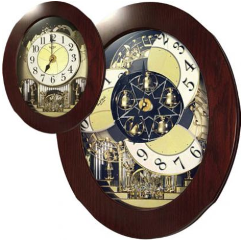 Rhythm Musical Wall Clock Quartz Gtm2202 Theclockfather Rhythm Clocks Clock Wall Clock