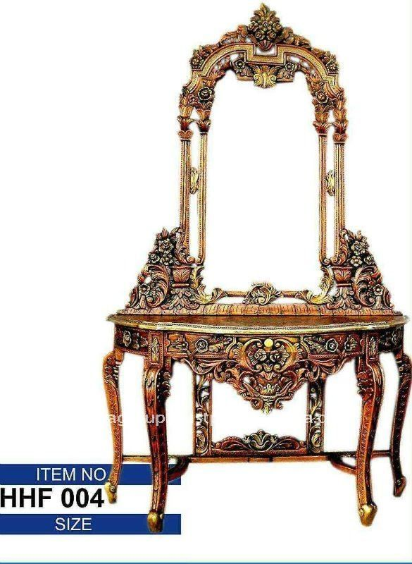 Marvelous Antique Dressing Table With Mirror #6 Antique Dressing Table With  Mirror View Wooden Antique