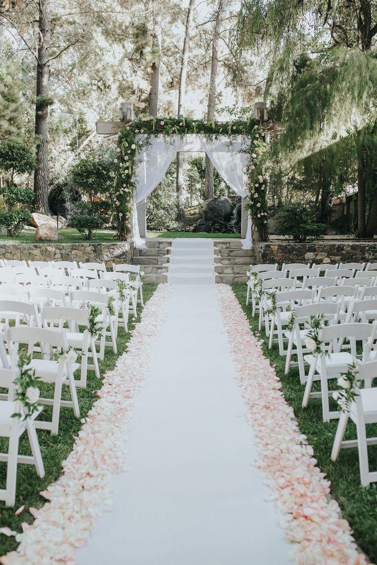 Rustikales sah nie an dieser Calamigos Ranch-Hochzeit so bezaubernd aus   – ceremony decor