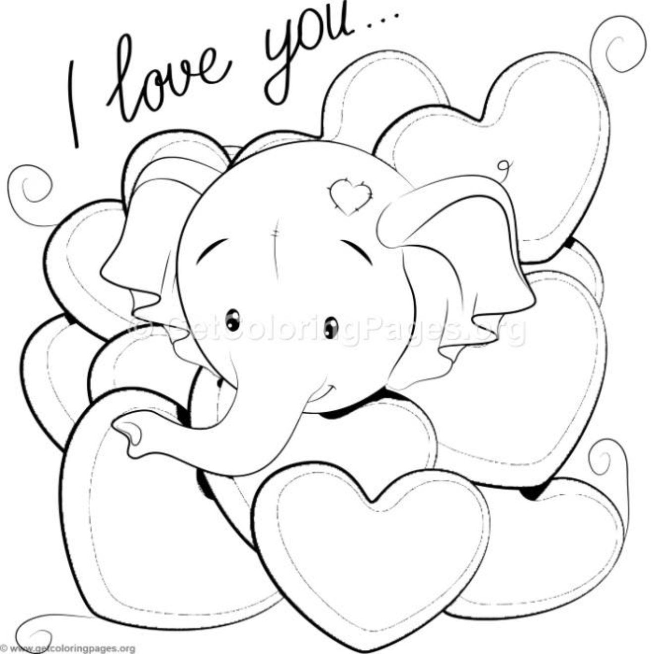 Cute Elephant Coloring Pages Elephant Coloring Page Unicorn Coloring Pages Cute Coloring Pages