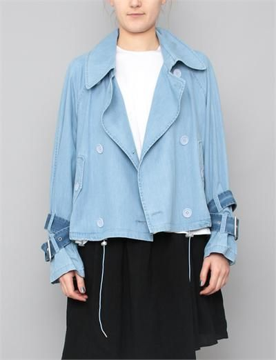 18e5e62d3 Acne Studios Joan Indigo Jacket- Light Denim | my style | Fashion ...