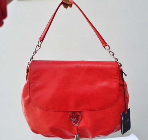 Red Armani Jeans bag available in Pakistan only on Secret Stash for a special discount!