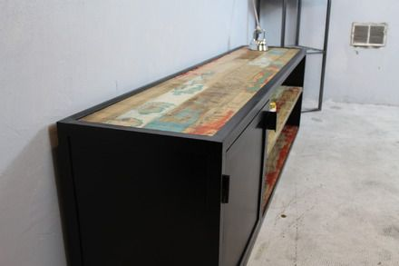 Meuble Télé  Design unique de type » loft industriel » et atelier