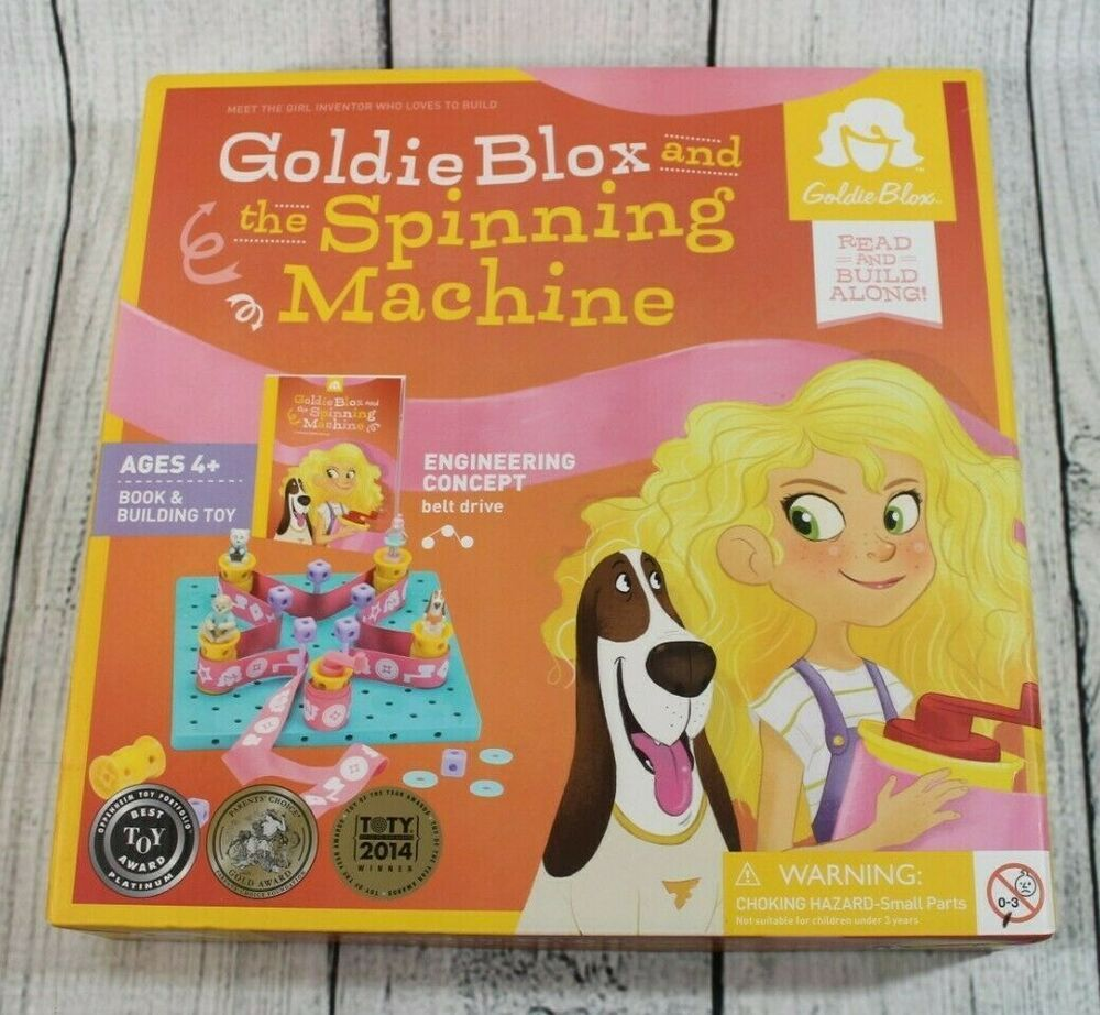 Goldieblox And The Spinning Machine Engineering Construction