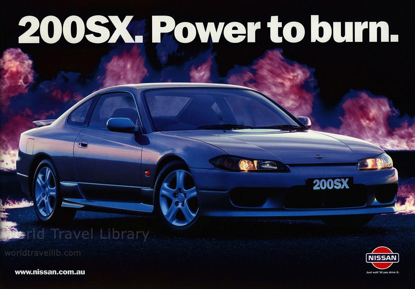 Nissan 200SX. Power to burn. 2001_1 (Australia), car