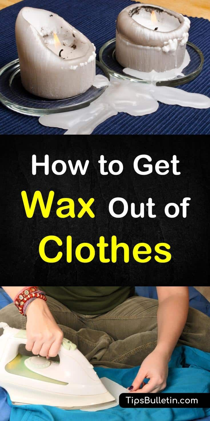 how to get candle wax out of carpet with iron