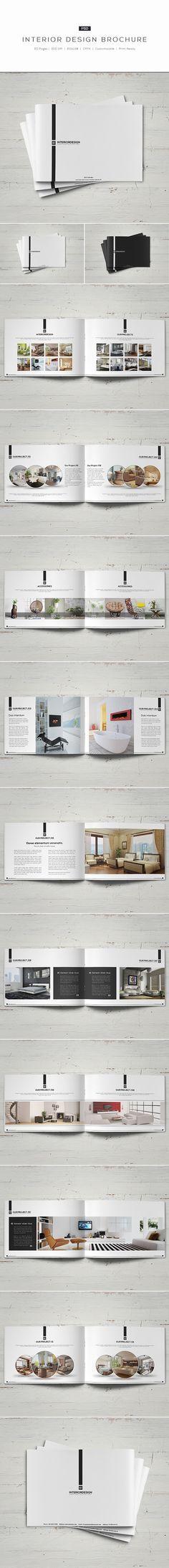 Interior Design Brochure on Behance - luxury brochure layout - interior design brochure template