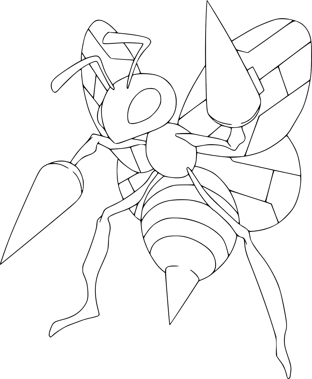 Beedrill Pokemon Coloring Books For Kids Pokemon Coloring Pages Pokemon Coloring Pokemon Coloring Sheets