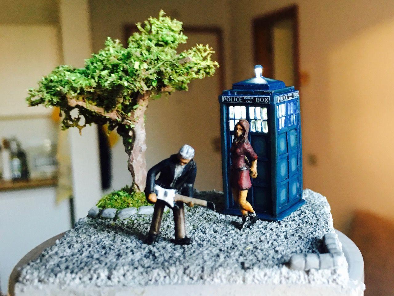 Tardis, 12 doctor and Clara