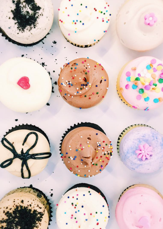 cupcakes   pretty dessert