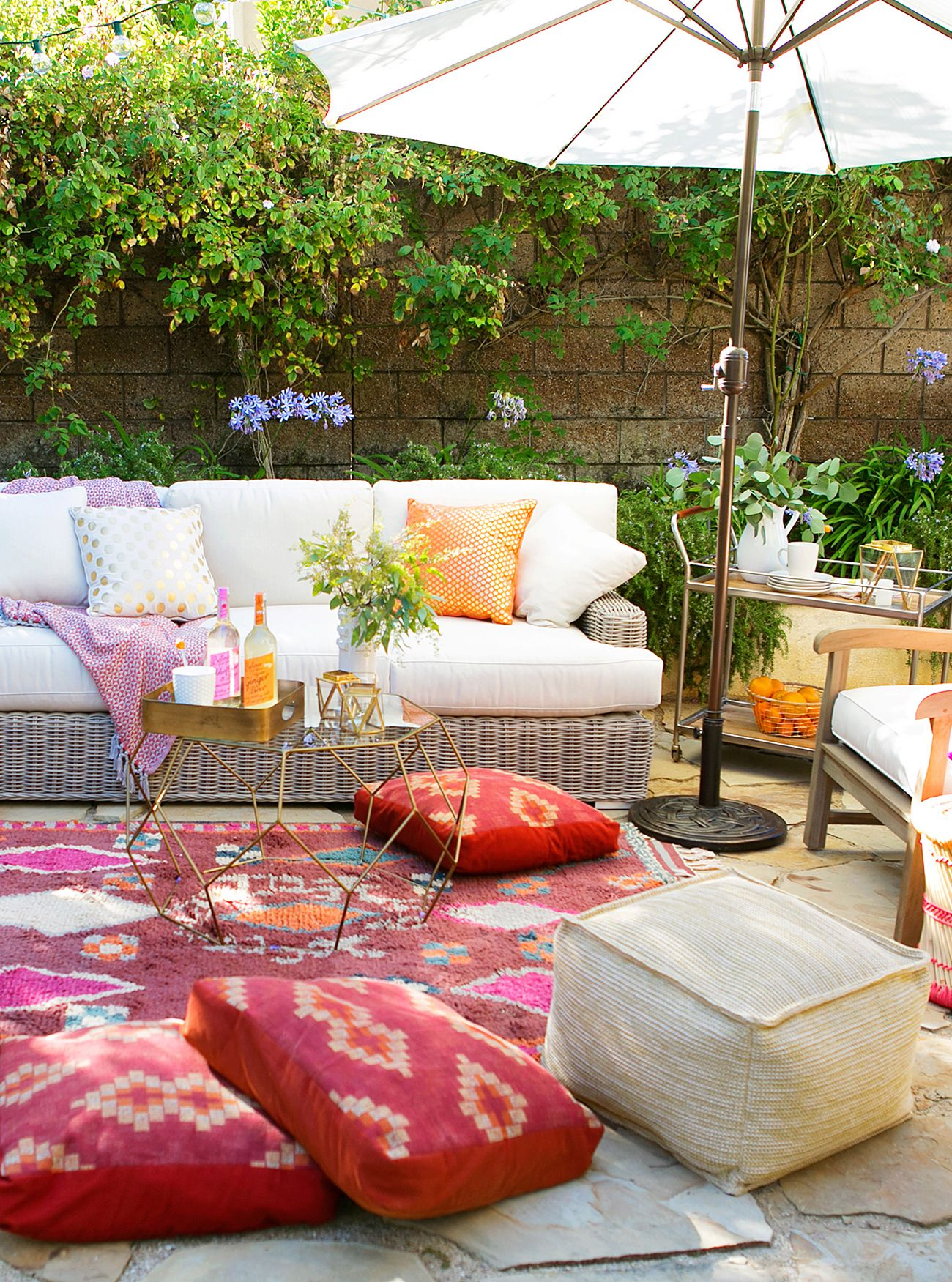 Pinterest Shabby Chic Garten 10 Inspiring Boho Chic Outdoor Spaces If I Lived In My Own