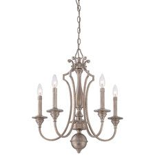 Wellington Ave 5 Light Candle-Style Chandelier
