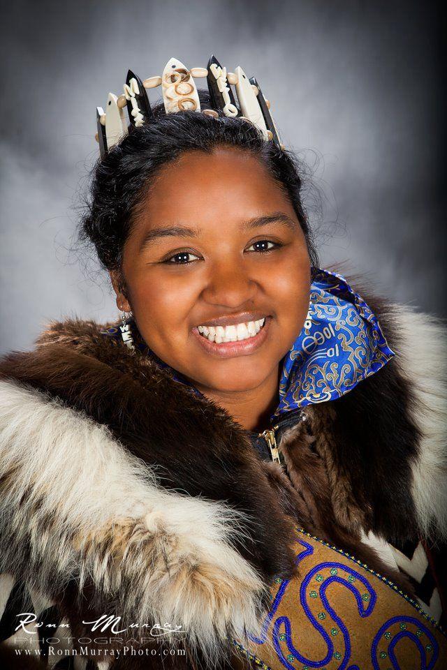 Miss World Eskimo Indian Olympics 2012 Miss Tikigaq Alaska