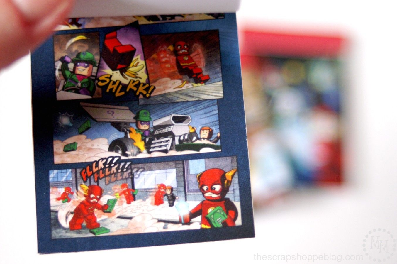 Share Tweet Pin Mail Last week I shared our LEGO Superhero birthday party. Today I wanted to show you how easy the minicomic books ...