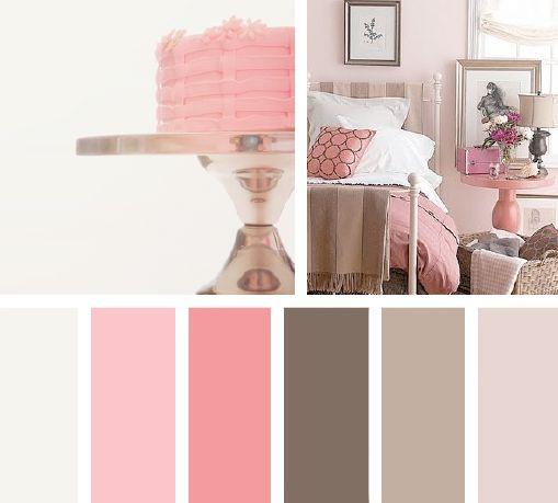 Color rosa pastel | Paletas de Color | Pinterest | Paletas de ...