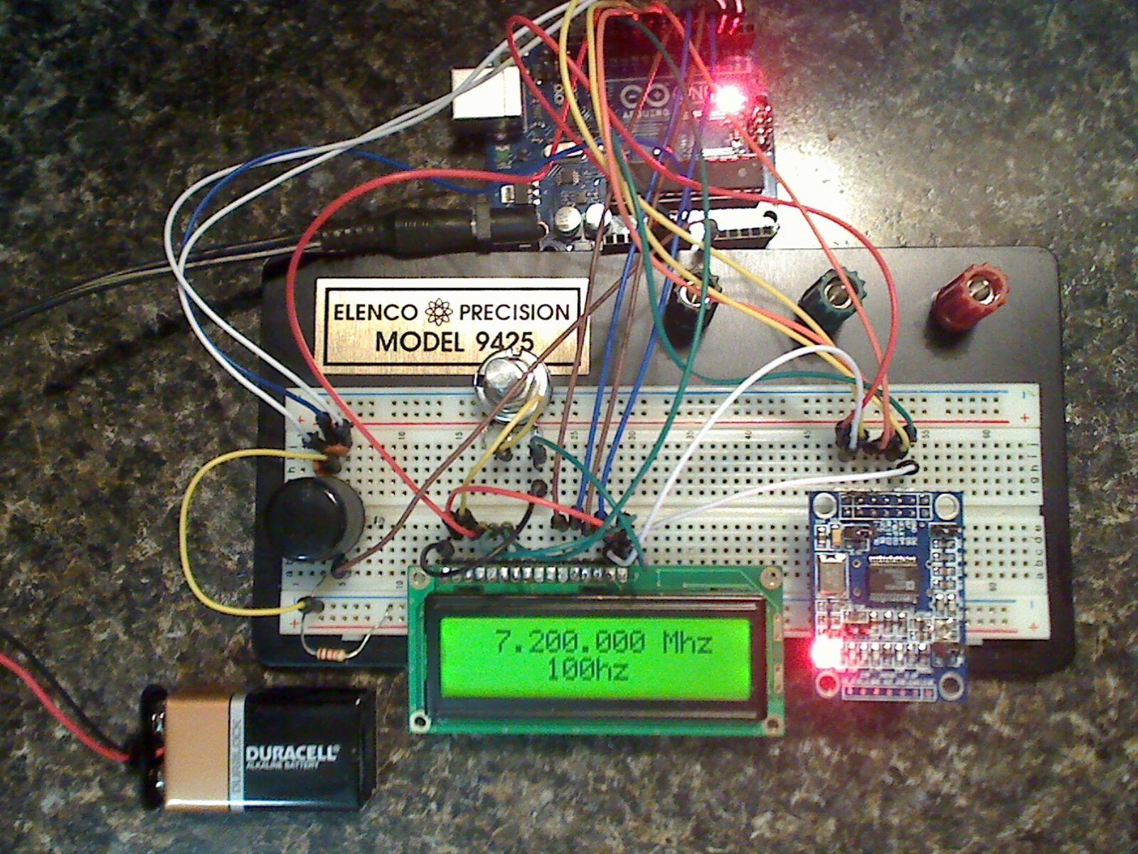 AD7C DDS VFO   arduino   Ham radio, Arduino, Ham