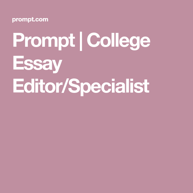 Admission essay editing services prompts
