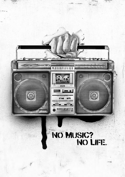 No Music? No Life. Music is life. #music #quotes
