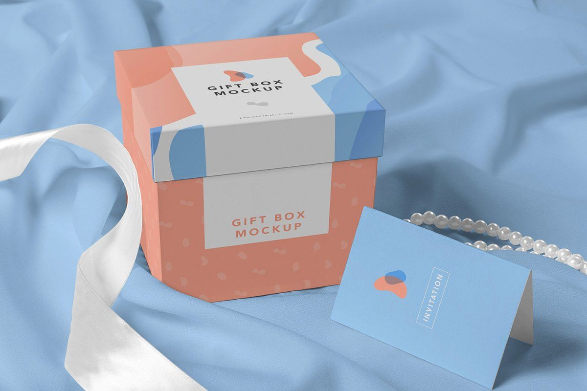 Download Luxury Gift Box Mockups Box Mockup Luxury Gift Box Gift Packaging Design