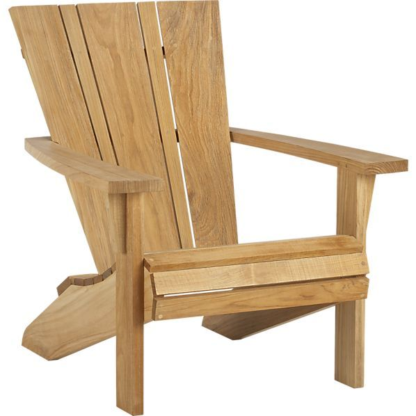Astonishing Vista Adirondack Chair Crate And Barrel New Home Ideas Ncnpc Chair Design For Home Ncnpcorg