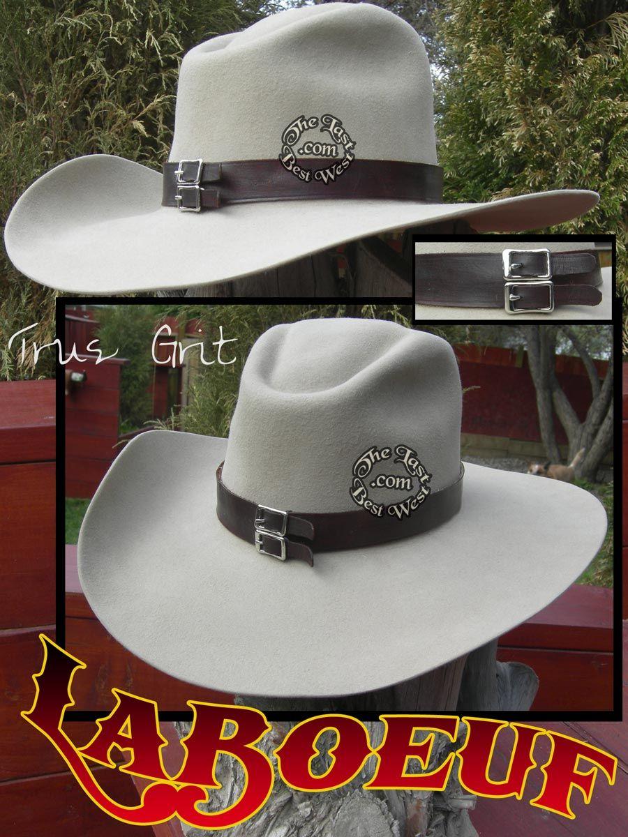 La Beef's hat in True Grit