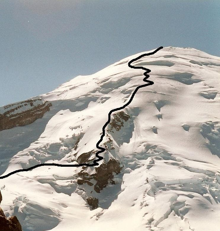 Mt Rainier Disappointment Cleaver