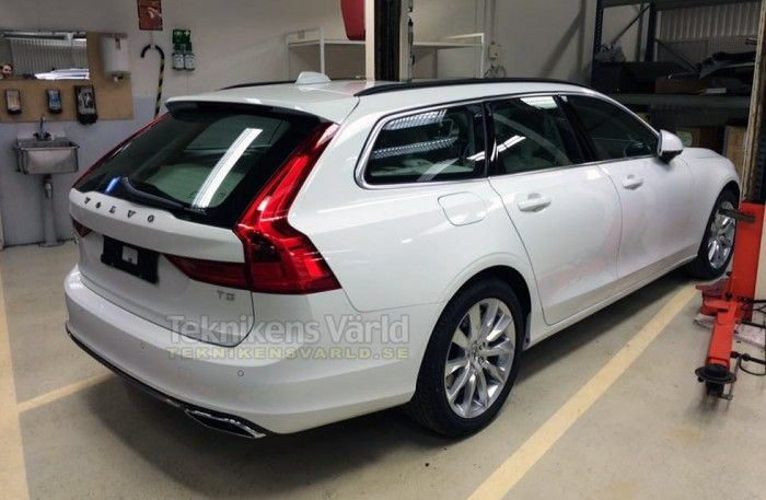 Volvo V90 leaked ahead of world debut – Spied