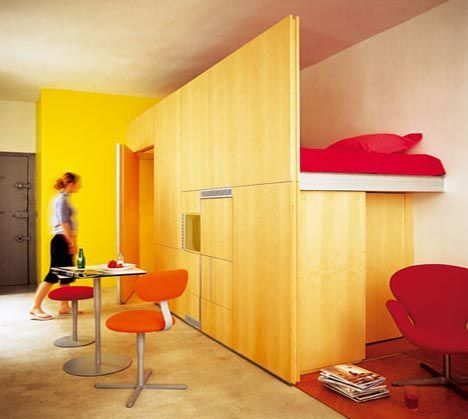 Bedroom Designs Small Spaces Designedforlife  Tiny  Pinterest  Loft Bedrooms Lofts And