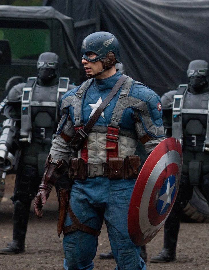 Chris Evans En Capitan America El Primer Vengador Captain America The First Avenger Capitan America Primer Vengador Capitan America Marvel Capitan America
