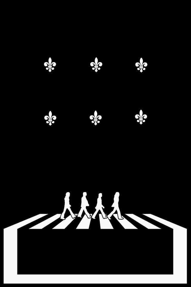 The Beatles Abbey Road Crossing IPhone 4 Wallpaper